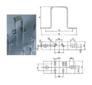 Suport motor-ventilator WIND, H84