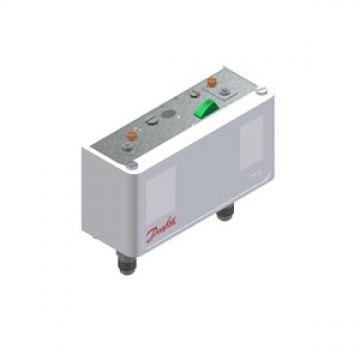 Danfoss dual KP17W/060-127666 pressure switch