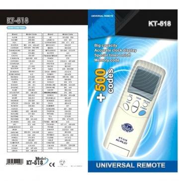 Telecomandă universală KT-518