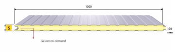 SP 100 BG (100 mm) insulating panel