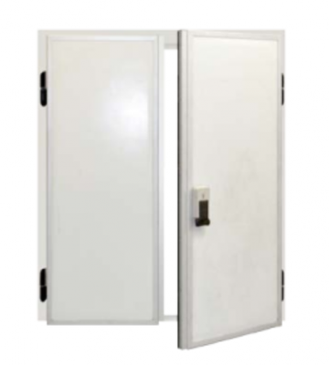 DPD range hinge double leaf cold room doors