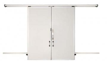 SDPD range sliding double leaf door