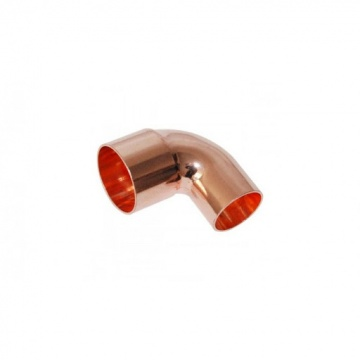 Copper elbow 90 degrees F/M - 22 mm