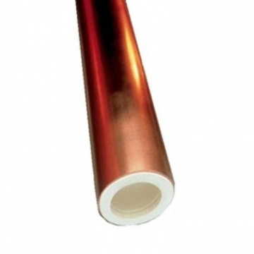 Hard copper pipe, 12 x 1 mm