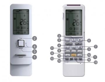 Remote controller Gree YAG1FB3