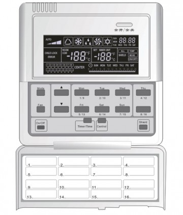 Centralized controller Gree CE50-24/E