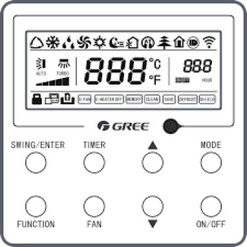 Controler cu fir Gree XK117
