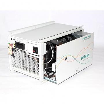 Open Embraco sliding condensing unit