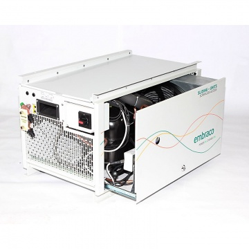 Open Embraco sliding condensing unit