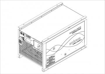 Sketch Embraco sliding condensing unit
