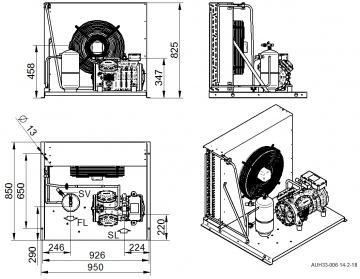 Unitate de condensare Dorin - AU-H505CS